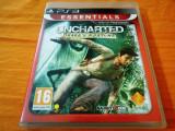 Joc Uncharted Drake's Fortune, exclusiv PS3, alte sute de jocuri!, Actiune, 16+, Single player, Sony