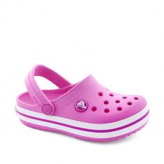 Sandale plaja fete Crocband K Party Pink, Crocs