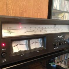 SHARP model ST-1122 - FM/MW/LW Stereo Tuner - Rar/Vintage/Impecabil/Japan, Analog
