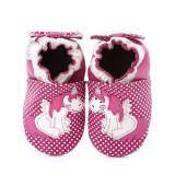 Pantofi bebelusi Pink Unicorn