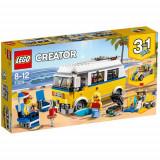 Set de constructie LEGO Creator Rulota Surferului