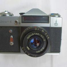 Aparat foto Zenit E olimpic+obiectiv Industar 50 filet 42 mm