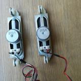 Două difuzoare 8 ohms, 10w pentru tv led JVC model LT-40V750