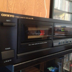 Stereo Cassette Tape Deck ONKYO TA-2520 - Impecabil/Made in Japan/Vintage
