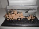 Macheta tanc BEDFORD QL + 6 PDR AT GUN  EGYPT 1941 + revista scara 1:72