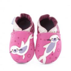Pantofi bebelusi Sea Leon Fuchsia