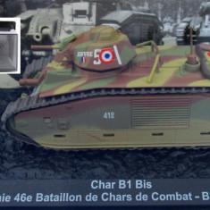 Macheta tanc Char B1 Bis - France - 1940 + revista scara 1:72
