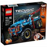 Set de constructie LEGO Technic Camion de Remorcare 6x6