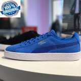 "ADIDASI ORIGINALI 100%   PUMA SUEDE CLASSIC  ""KING BLUE ""  nr 44, Din imagine"