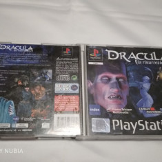 [PSX] Dracula - La risurrezione - joc original Playstation 1