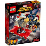 Set de constructie LEGO Marvel Super Heroes Iron Man: Atacul lui Detroit Steel