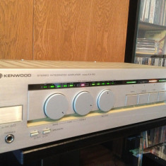 Amplificator Stereo KENWOOD model KA-50 - RAR/Vintage/Japan/Impecabil