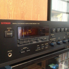 Amplificator/Tuner Stereo  LUXMAN R-341 - Impecabil/Vintage/made in Japan, 41-80W