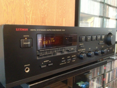 Amplificator/Tuner Stereo  LUXMAN R-341 - Impecabil/Vintage/made in Japan foto