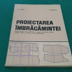 PROIECTAREA ÎMBRĂCĂMINTEI/ MANUAL LICEE INDUSTRIALE/ GH. CIONTEA/1981