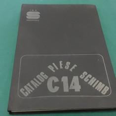 CATALOGUL PIESELOR DE SCHIMB COMBINA C14/ 1985
