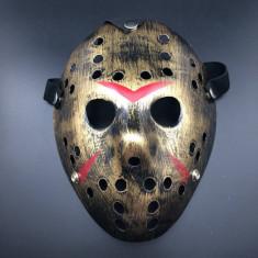 Masca lui Freddy Krueger vs. Jason Vorhees Vineri 13 ,gold, Universal, Auriu