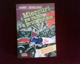 Harry Kemelman Miercuri pe rabin l-a prins ploaia