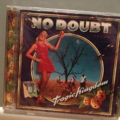 NO DOUBT - TRAGIC KINGDOM (1995/INTERSCOPE/GERMANY) - CD ORIGINAL/Sigilat/Nou