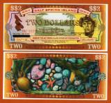 !!! CANADA , SALT SPRING ISLAND = LOCAL  MONEY  = 2 DOLARI  2001 - P 902 b - UNC