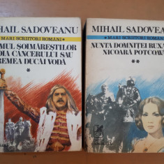 Mihail Sadoveanu, Romane, vol. 1-2 Neamul Șoimăreștilor etc.