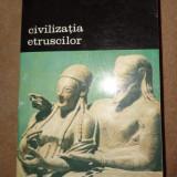 Civilizatia etruscilor 387pagini/an 1996- Larissa Bonfante