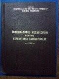 Indrumatorul mecanicului pentru exploatarea locomotivelor
