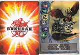 Bnk jc  Bakugan - set 10 carduri magnetice diferite ( 2011)