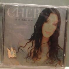 CHER - BELIEVE (1998/WARNER/GERMANY) - CD ORIGINAL/Sigilat/Nou