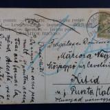 CARTE POSTALA CHITID 1905 HUNEDOARA, Deva, Circulata, Printata