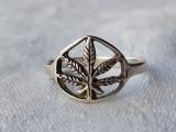 INEL argint MARIJUANA traforat manual VECHI de efect VINTAGE