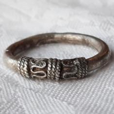 INEL argint Etnic TRIBAL AFGHAN vintage VECHI de efect RAR