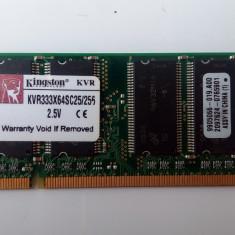 Memorie RAM laptop 256 MB / DDR / 333 MHz / PC2700