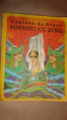 Povesti cu zane (5 povesti /ilustratii Iacob Dezideriu )an1977- Contesa de Segur foto