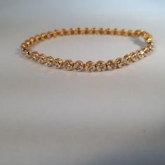 Bratara Tenis cu Diamante 2Ct Aur de 14k Claritate SI1 Culoare G-H