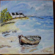 Marina 7-pictura ulei pe panza;Macedon Luiza, Marine, Altul