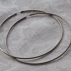 CERCEI argint ROTUNZI mari VECHI vintage DE EFECT