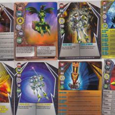 bnk jc  Bakugan - set 8 carduri magnetice diferite ( 2011)