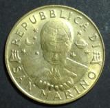 San Marino 200 lire 1996 UNC, Europa
