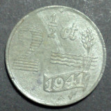 Olanda 2,5 cent 1941, Europa