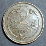 Austria 2 heller 1893, Europa