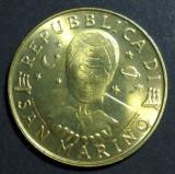 San Marino 200 lire 1997 UNC, Europa