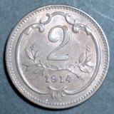 Austria 2 heller 1914 UNC, Europa