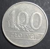 Polonia 100 zloti 1990 aUNC, Europa