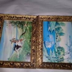 2 RAME Tablouri Originale vechi,rame tablou vechi,31 cm/24 cm,Transport GRATUIT, Lemn, Dreptunghiular