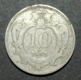 Austria 10 heller 1895, Europa