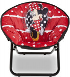 Fotoliu pliabil pentru copii Minnie Mouse, Delta Children