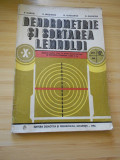 V. giurgiu--dendrometrie si sortarea lemnului - 1984
