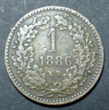 Ungaria 1 kreuzer 1886 KB, Europa