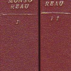 ALEX. DUMAS - DOAMNA DE MONSOREAU ( 2 VOL ) ( RELEGATA IN COPERTILE ORIGINALE )